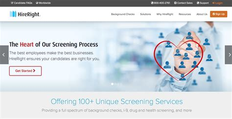 hireright background check reviews best background checks for healthcare