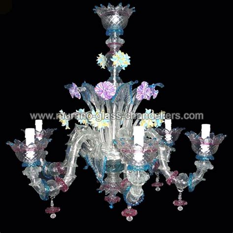 quot berenice quot lustre en cristal de murano murano glass chandeliers