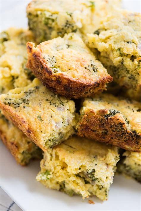 cheesy broccoli cornbread  sweetest occasion