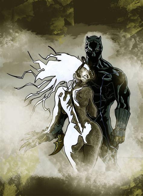panther ororo challa storm comic comics african munroe marvel deviantart artwork hero fantasy universe xmen tchalla panthers afro kickboxing anime