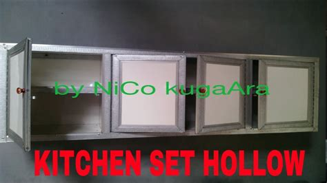 Kitchen Set Baja Ringan ((hollow )) Youtube