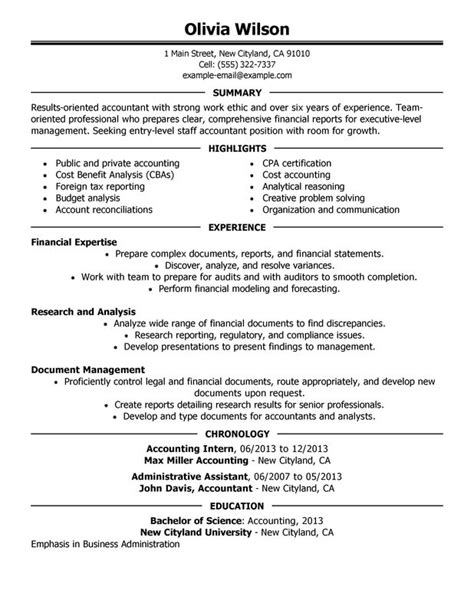 sample staff accountant resumes staff accountant resume examples free to try today