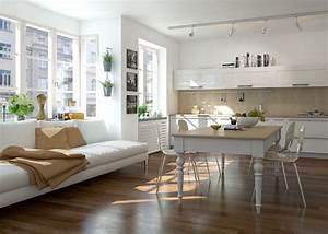 Küche Günstig Einrichten : offene wohnk che einrichten neuesten design kollektionen f r die familien ~ Indierocktalk.com Haus und Dekorationen