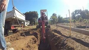 Ordre Des Travaux Construction Maison : r alisation des fondations d 39 une maison youtube ~ Premium-room.com Idées de Décoration