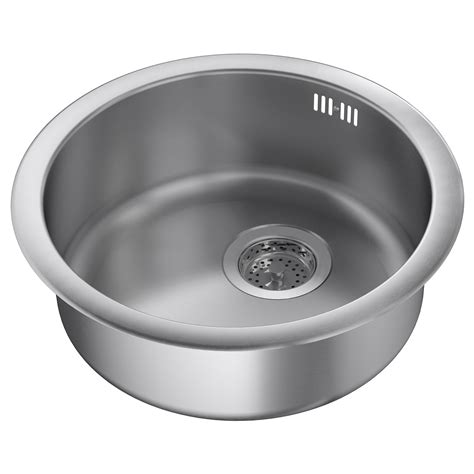 ikea stainless steel sink boholmen inset sink 1 bowl stainless steel 45x15 cm ikea