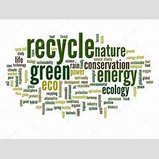 Recycle And Ecology Word Cloud — Stock Photo © Design36 #68269509