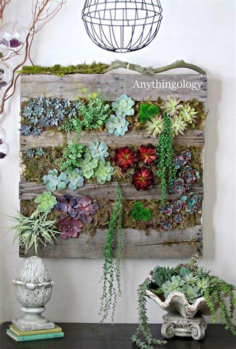 vertical succulent garden living wall art on pinterest