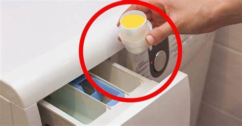 Gießen Sie Eine Prise Essig In Ihre Waschmaschine