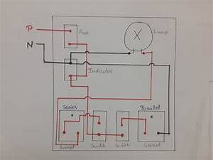How To Make Series Parallel Electrical Testing Board  In