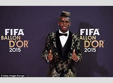 Paul Pogba takes mother as his guest to Ballon d'Or gala