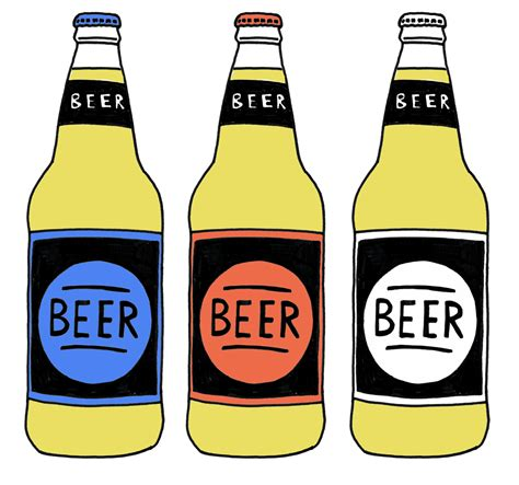 Beer Bottle Drawing Clipart Best