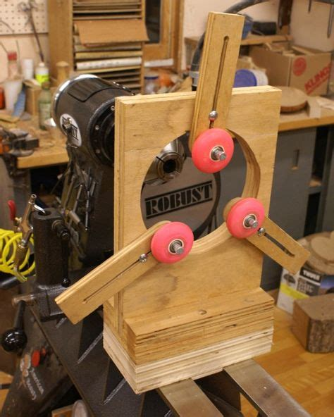 simple steady rest wood turning woodworking