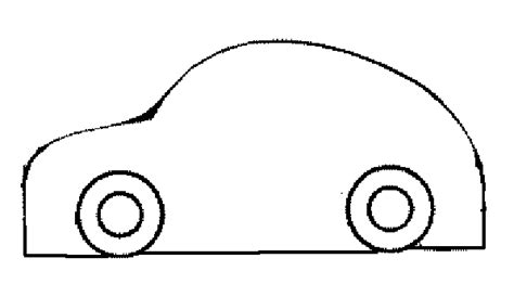 Kleurplaat Simpele Auto by Auto En Caravan Stof Hobby Blogo Nl
