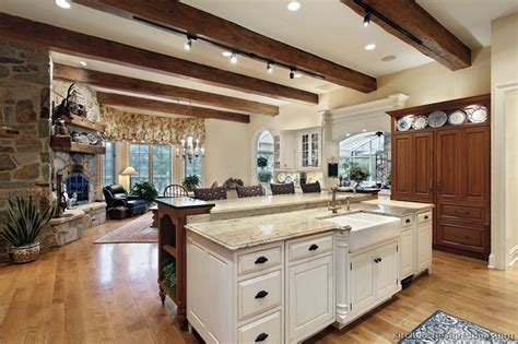 rustic white kitchen cabinets rustic kitchen designs pictures and inspiration 5027