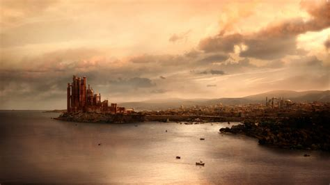 Song Of Ice And Fire Wallpaper Game Of Thrones King S Landing 4k Wallpaper