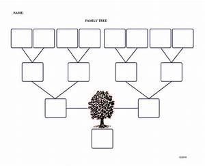 simple blank family tree wwwimgkidcom the image kid With plain family tree template