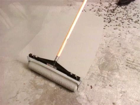 garage floor paint roller how to add acid stain to a concrete floor how tos diy