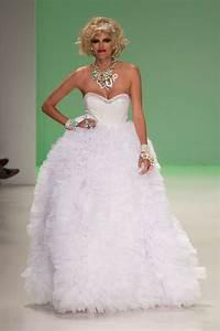 betsey johnson spring 2015 designer wedding dresses With betsey johnson wedding dresses