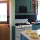 black and green kitchen dakota s green shaker inspired kitchen kitchn 4642