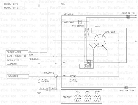 Huskee Mower Electrical Diagram by Mtd 13at688h731 Huskee Lawn Tractor 2004 Tractor