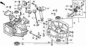 Honda Engines Gxv160 N62 Engine  Jpn  Vin  Gj03