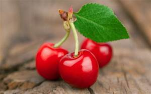 Fresh red cherries macro photography wallpaper | other ...