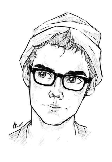 #cute #boy #glasses #art #character #inspo #inspiration