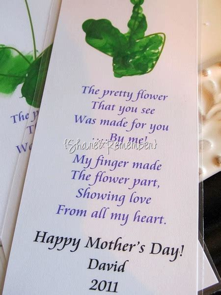 printable flower bookmark  mom mothers day gift