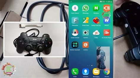 How To Connect Usb Gamepad (joystick) To Mobile Or Tablets