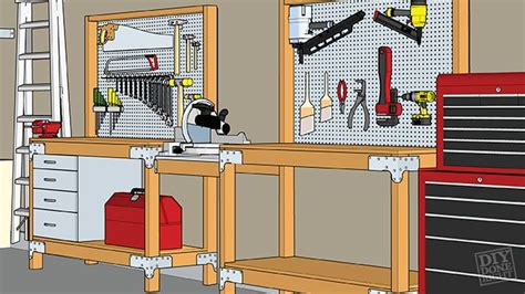 heavy duty workbench diy workbench garage workbench