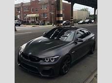 BMW F82 M4 matte black BMW Matte black cars, Matte