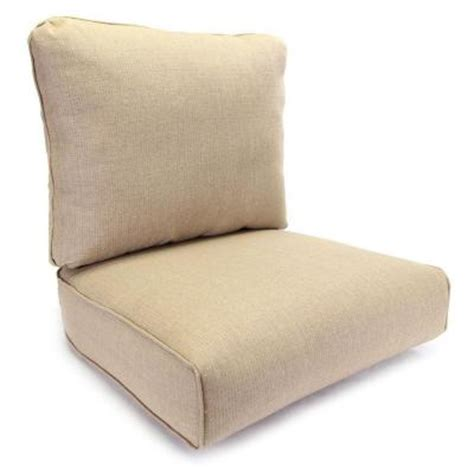 Hton Bay Patio Chair Replacement Cushions by Hton Bay Woodbury Textured Sand Replacement Outdoor