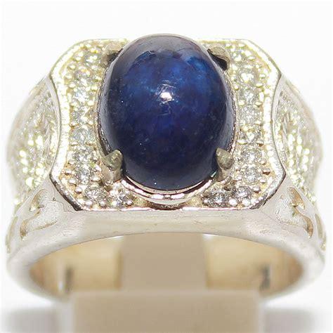 jual cincin batu blue safir afrika batu permata di lapak achmad faisol abdullah ichalrebel