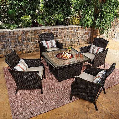 sams club pit member s agio collection heritage chat set sam