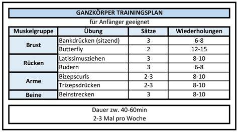 trainingsplan fitnessstudio frau anfaenger windwisdomnet