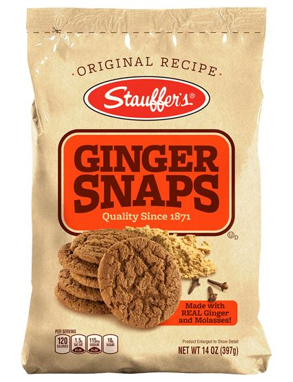 ginger snaps stauffers animal crackers