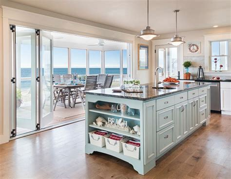 beach house kitchens ideas  pinterest
