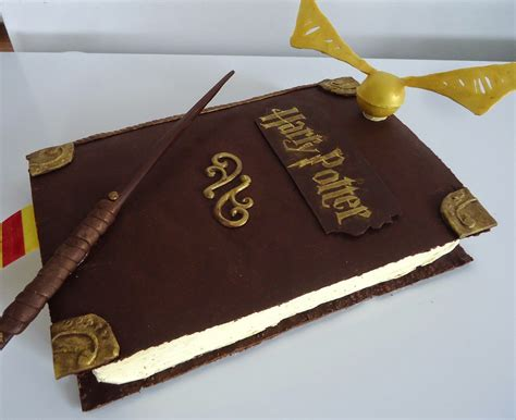 les amoureux de la cuisine minicuisine gâteau de fête harry potter