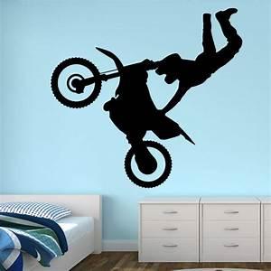 Motorbike Jump Wall Decal Vivid Wall Decals
