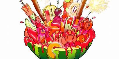 Clipart Fruit Mexican Cup Salad Extreme Taste