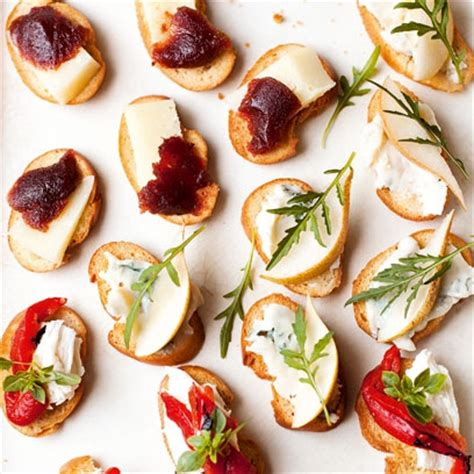 easy canape recipes uk best easy canapes recipes