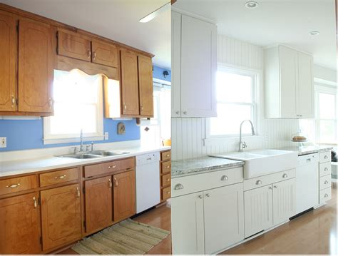 Remodeled Kitchen Ideas - farm kitchen budget remodel before after photos