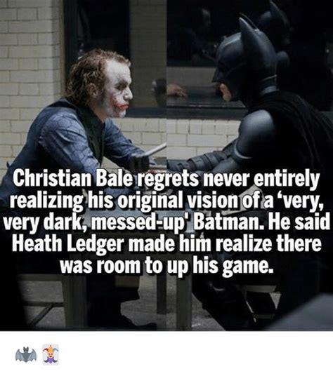 Christian Bale Meme - 25 best memes about heath ledger heath ledger memes