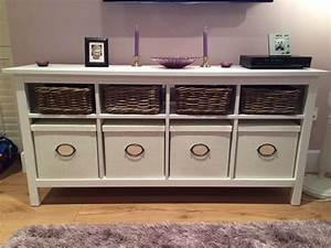 Ikea Hemnes Console Table With Matching Storage