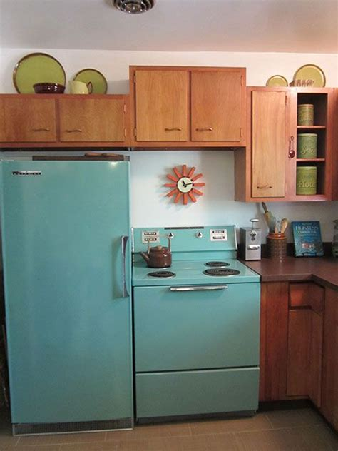 new colors for kitchen appliances american 25 vintage stoves and refrigerators 7084