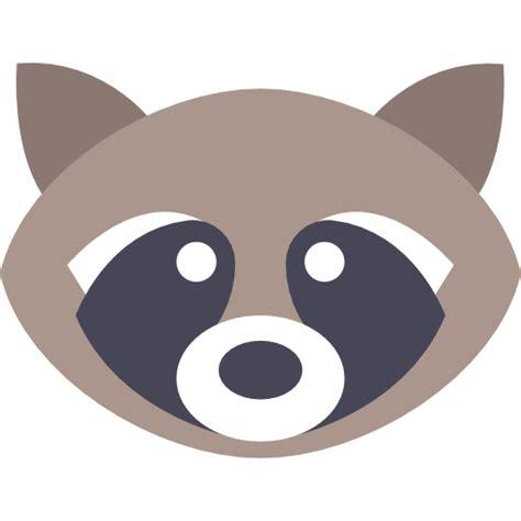 mammal wild wildlife raccoon animal america animals icon