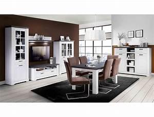 Esszimmer Weiß Grau : wohnzimmer gaston 50 wei grau beleuchtung 6 teilig schneeeiche wohnbereiche esszimmer esszimmer ~ Markanthonyermac.com Haus und Dekorationen