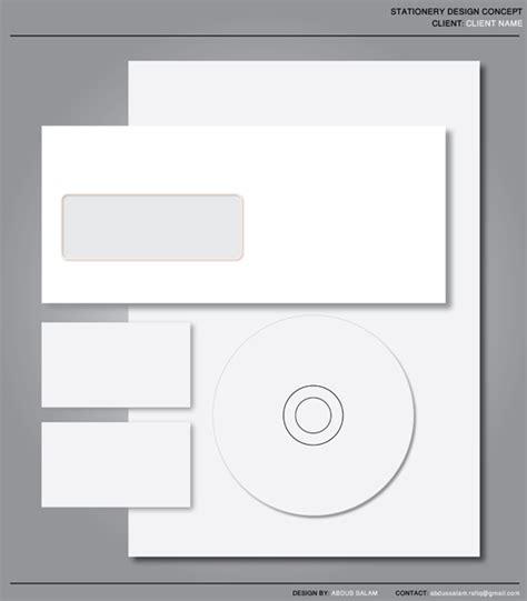 free stationery set design template printriver 169