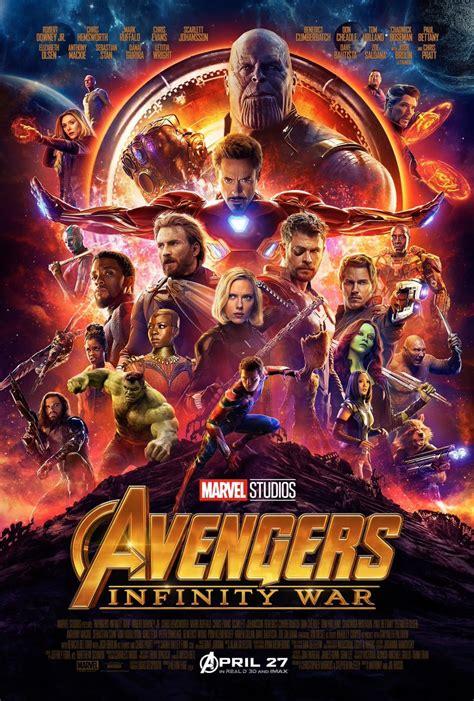 avengers infinity war poster  official fan
