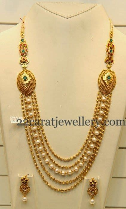 simple haram looks heavy large bead necklace gold jewelry simple jewelry gold